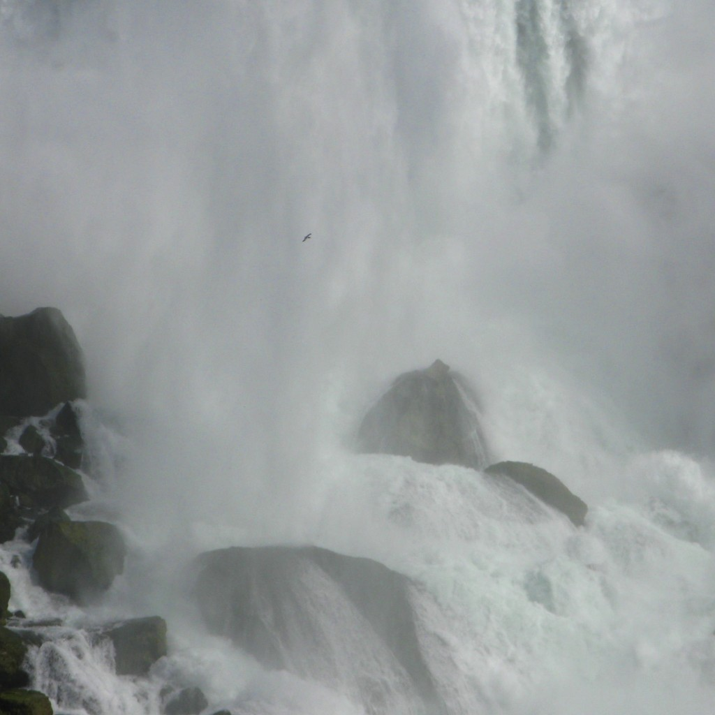 niagara falls - us falls closeup