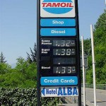 Gas prices in Switzerland in 2002