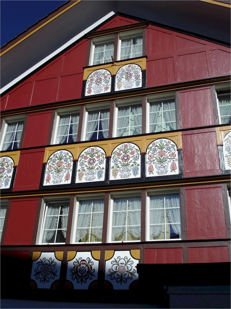 Appenzell - Typical House