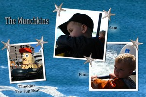 whale watching with the Munchkins