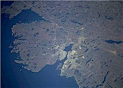 Halifax from the air