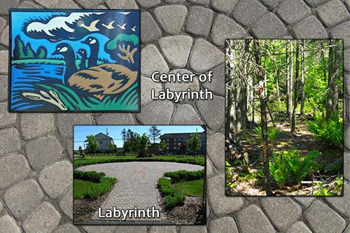 Portland Lakes Trail - Labyrinth