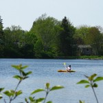 paddling on Oathill Lake